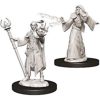D&D Nolzur's Marvelous Unpainted Miniatures Male Elf Wizard (Pack of 6)