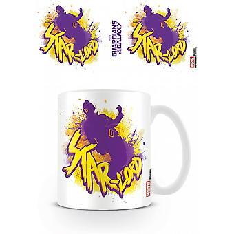 Guardians Of The Galaxy Star Lord Rock Mug