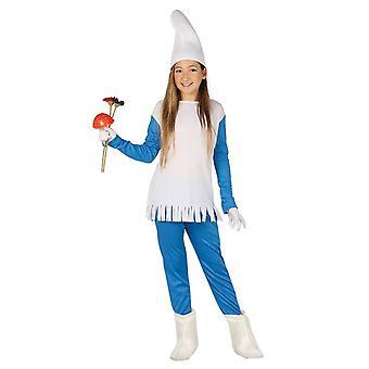 Girls Dwarf Gnome Fancy Dress Costume