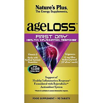 Nature's Plus Ageloss First Day Inflammation Tabs 90 (8003)