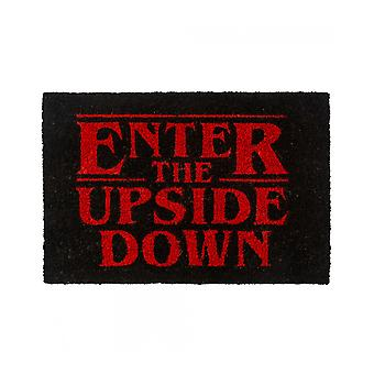 Official Stranger Things Enter the Upside Down Door Mat