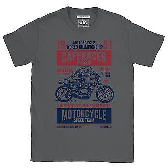 Speedway t shirt cafe racer classic race new york motorcycle t shirt