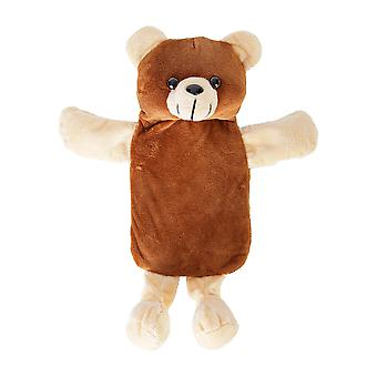 Cozy Creatures Super Soft Animal Childrens Hot Water Bottle & Cover - 500ml