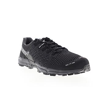 Inov-8 Roclite 290 Womens Black Mesh Low Top Lace Up Athletic Running Shoes