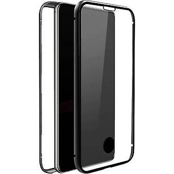 Black Rock 360° Glass Galaxy Case Samsung Galaxy S10 Lite Transparent, Black