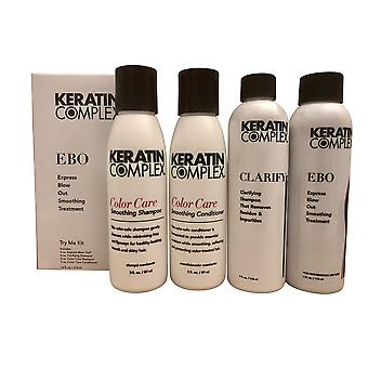 Keratin Complex Express Blow Out Smoothing Treatment Try Me Kit 14 OZ