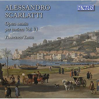 Scarlatti / Tasini - Scarlatti / Tasini: Complete Keyboard Works 6 [CD] USA import