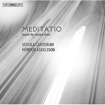 Askelsson / Esenvalds / Schola Cantorum - Meditatio [SACD] USA import