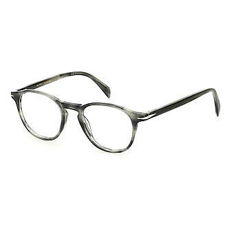 David Beckham DB1018 2W8 Grey Horn Glasses