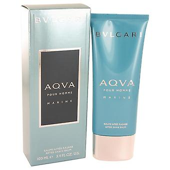 Bvlgari Aqua Marine After Shave Balm By Bvlgari 3.4 oz After Shave Balm
