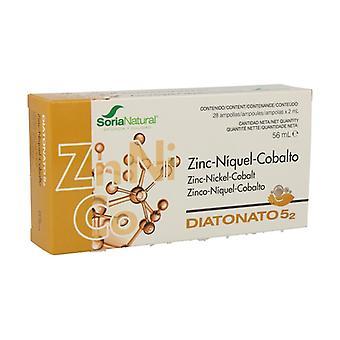 Diatonate 5/2 (Zn Ni Co) 28 vials