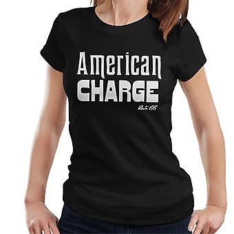Route 66 Amerikaanse charge vrouwen T-shirt