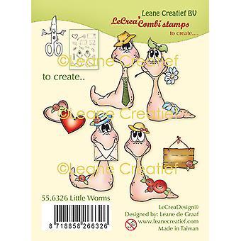 Leane Creatief Lille Orme Klare frimærker