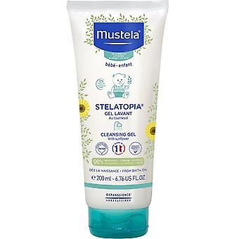 Gel detergente Mustela Stelatopia 200ml