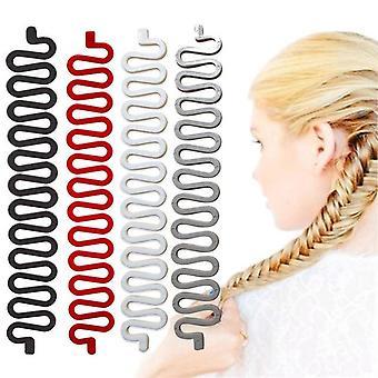 Hair Braiding Twist Curler Styling Tool - Pull Hair Needle Ponytail
