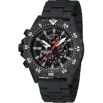 KHS - Montre-bracelet homme - Shooter MKII Chronograph NEOCARB®-Band - KHS SH2CF. NCB