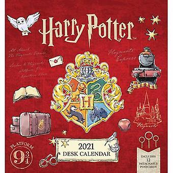 Harry Potter-bureaubladkalender 2021