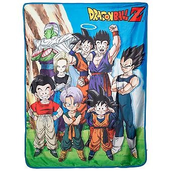 Dragon Ball Z Group Sublimation Throw Blanket