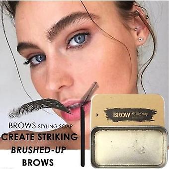 Waterproof Makeup Gel Balm For Styling Eyebrows - Long Lasting Brow Enhancer