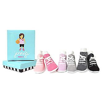 Socks - Trumpette - Jenny's Assorted Pastels Girls (Set of 6) 0-12M