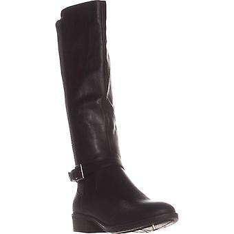 Style & Co. Womens Luciaa  Leather Almond Toe Knee High Fashion Boots