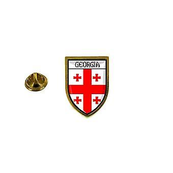 pins pin badge pin's souvenir ville drapeau pays blason georgie georgien