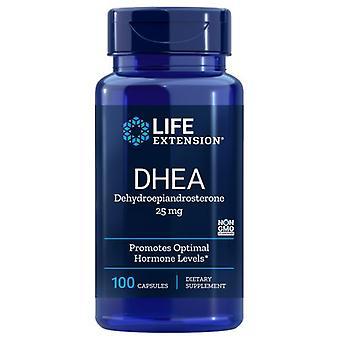 Extensão de Vida DHEA, 25 mgs, 100 caps