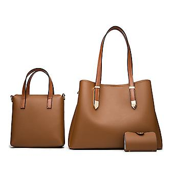 3pcs Fashion Handbag Large Crossbody Bag