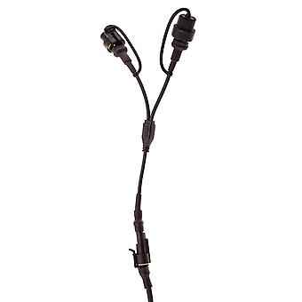 Waterproof extender dual cable for hardwire / din hella