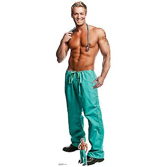 Doctor Billy Jeffrey Chippendale Official Lifesize Cardboard Cutout