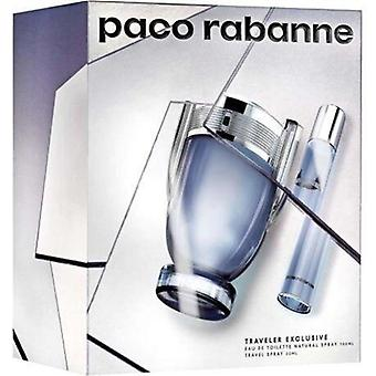 Paco Rabanne Invictus Giftset Eau de toilette 100 ml + Eau de toilette 20 ml