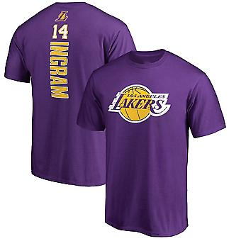 Los Angeles Lakers Ingram T-shirt Sports Top DX015