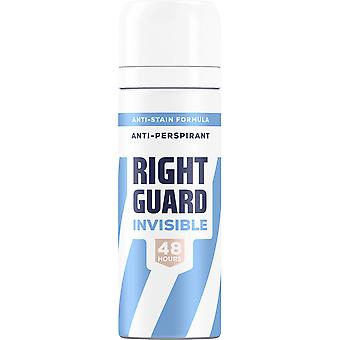 Right Guard 6 X Right Guard Total Defence Deodorant For Her - Invisible