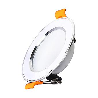 Ultra-thin Downlight Aluminum Silver 3w 5w 7w 9w Led Ceiling Lamp.