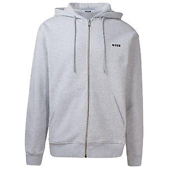Msgm 2940mm8720759794 Mænd's Grå Bomuld Sweatshirt