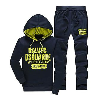 Winter Warm Tracksuit Men 3 Pieces Hooded Fleece Hoodies+zipper Vest+sweatpants