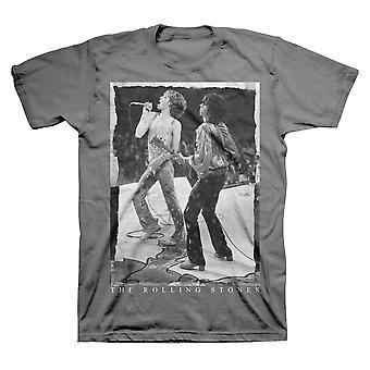 Rolling stones live shot - miesten polttaa t-paita