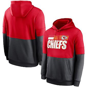 Kansas City Chiefs Sports Tops Hooded Sweater 3WY277