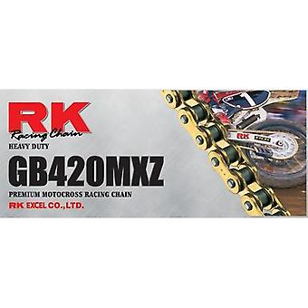 RK 428MXZ X 124 Premium Motocross Racing Chain Heavy Duty Black