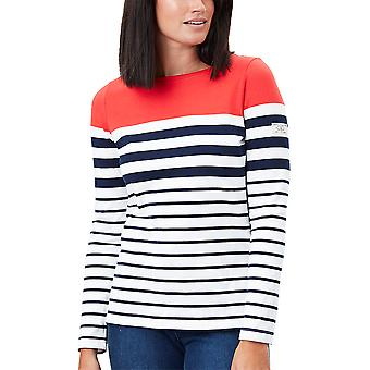 Joules Womens Harbour Long Sleeve Classic Relaxed Fit Top