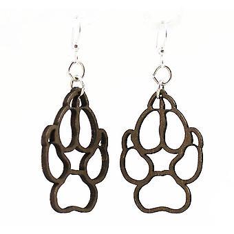 Wolf Paw Earrings