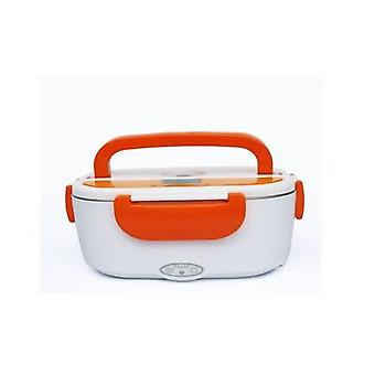 Dual Use Home Car Heating Lunch Box Thermostat Food Warmer Container Mini Rice