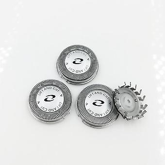 3x Shaver Heads Foil Blade For Philips Hq6640 Hq6645 Hq6675 Hq6676 Hq6695