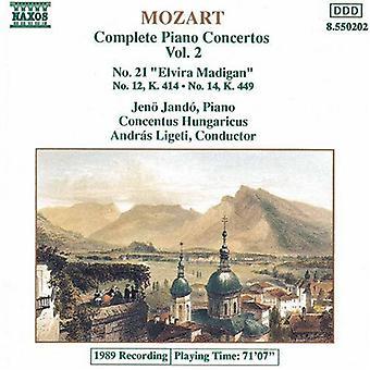 W.a. Mozart - Mozart: Piano Concertos Nos. 21, 12 & 14 [CD] USA import