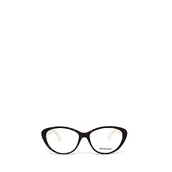 Balenciaga BB0067O havana unisex eyeglasses