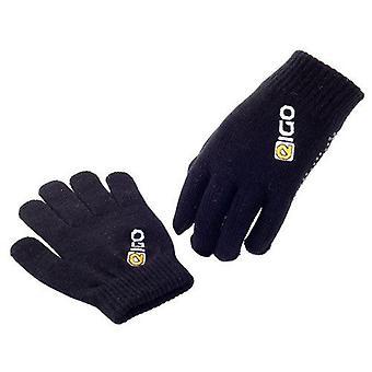 Eigo Knitted Cycling Gloves Black