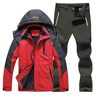 Combinaison de ski d'hiver, coupe-vent, imperméable à l'eau, pantalon de veste de snowboard, super extérieur