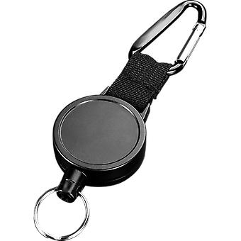 Wire Rope Camping Telescopic Burglar Key Holder, Tactical Keychain, Outdoor