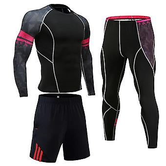 Men's Running Fitness Sportswear Athletic Physical Training Clothes Sports
