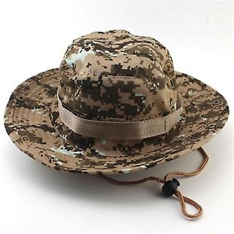 Men, Women's Outdoor Wide Brim Sun Hat, Side Snap Chin Cord, Fishing, Hiking